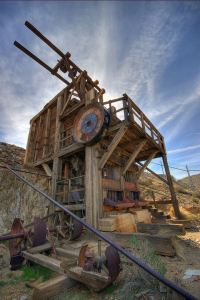 Lost Horse Mine - Stamp Mill
