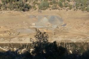 Tarantula Mine - Mill foundation and tailings