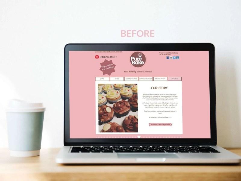 PureBake Website Refresh