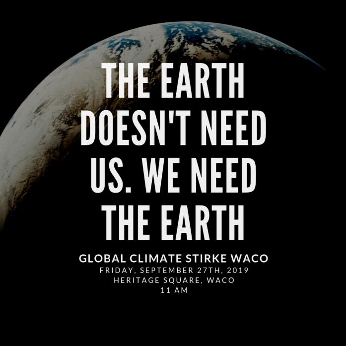 GlobaL Climate stirke waco