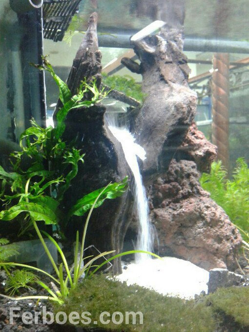 How To Make A Waterfall Sand In The Aquarium