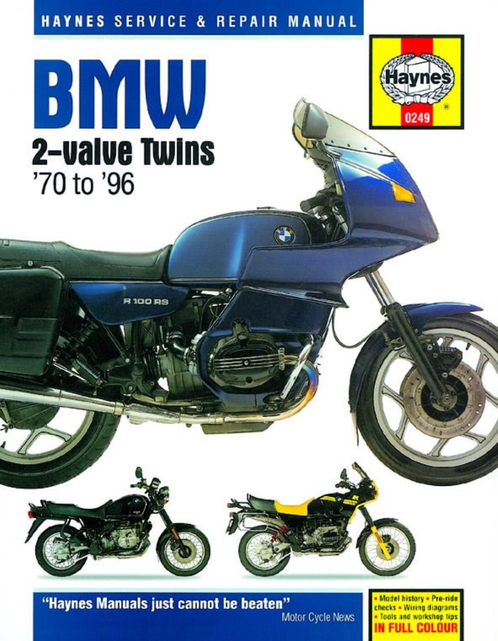 hight resolution of image is loading manual haynes for 1989 bmw r 80 rt