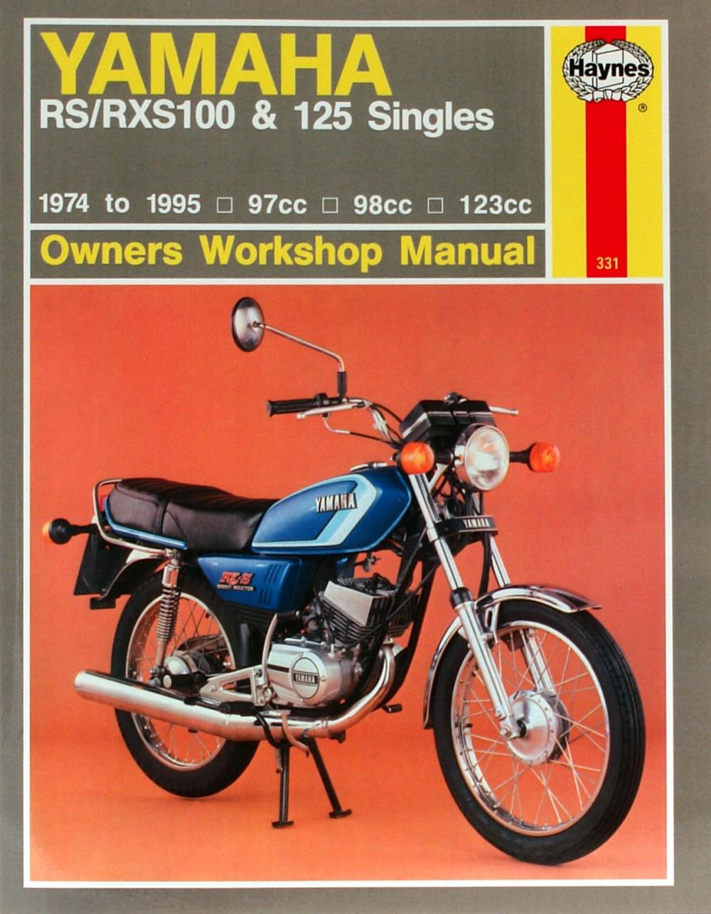 medium resolution of image is loading manual haynes for 1979 yamaha rs 125 dx