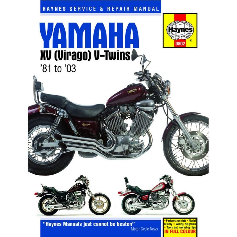 medium resolution of image is loading manual haynes for 1995 yamaha xv 750 g