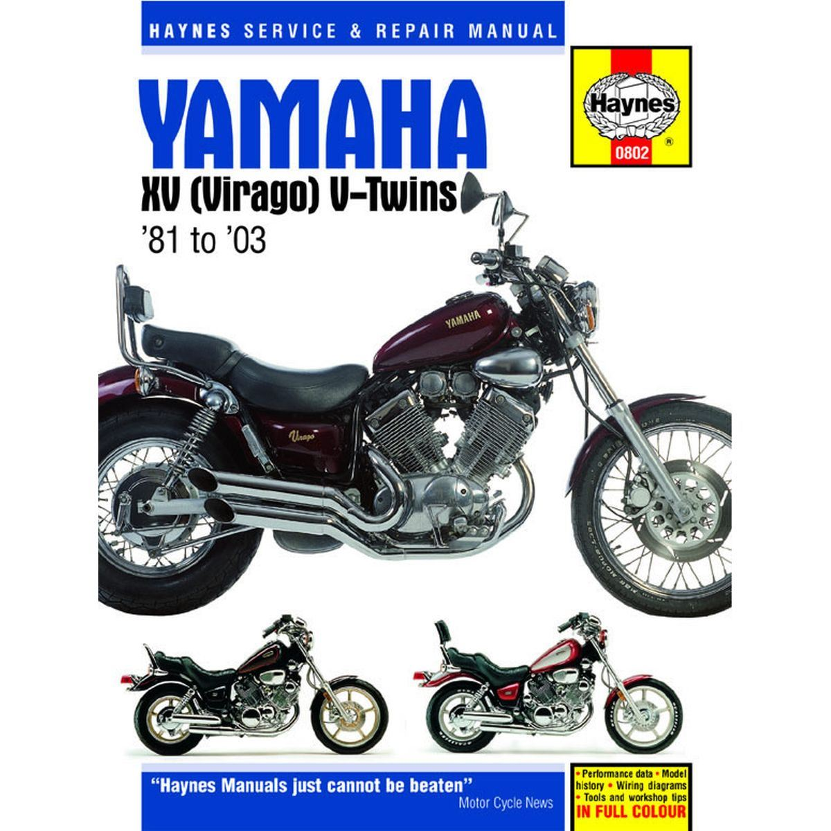 hight resolution of image is loading manual haynes for 1995 yamaha xv 750 g