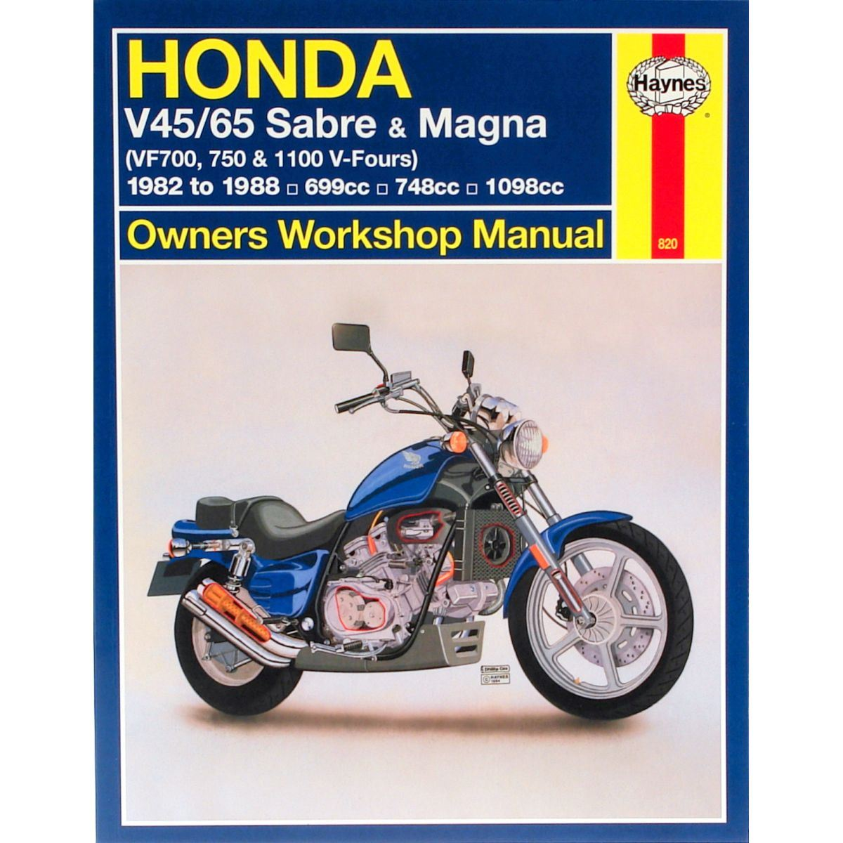 hight resolution of image is loading manual haynes for 1982 honda vf 750 sc
