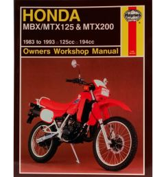 image is loading manual haynes for 1985 honda mtx 125 rwe  [ 1200 x 1200 Pixel ]
