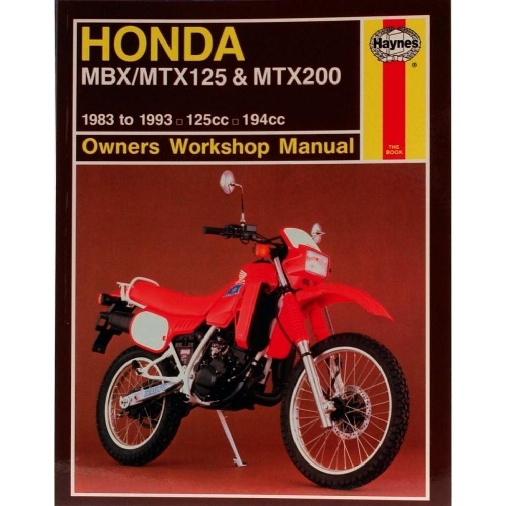 medium resolution of image is loading manual haynes for 1985 honda mtx 125 rwe