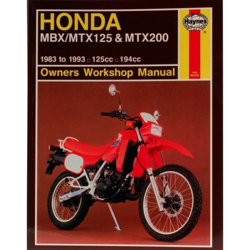 small resolution of image is loading manual haynes for 1985 honda mtx 125 rwe