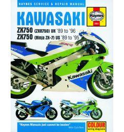 image is loading haynes manual 2054 kaw zx750 ninja zx 7  [ 1200 x 1200 Pixel ]