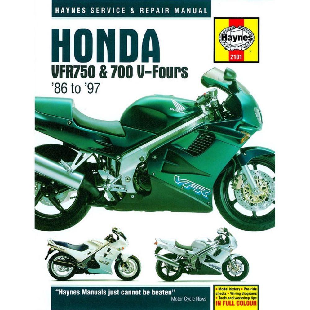 medium resolution of image is loading manual haynes for 1993 honda vfr 750 fp