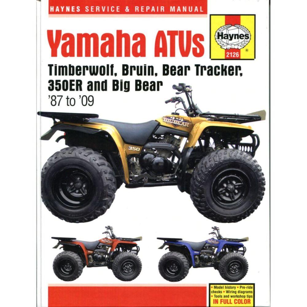 medium resolution of image is loading manual haynes for 2002 yamaha yfm 400 fwp