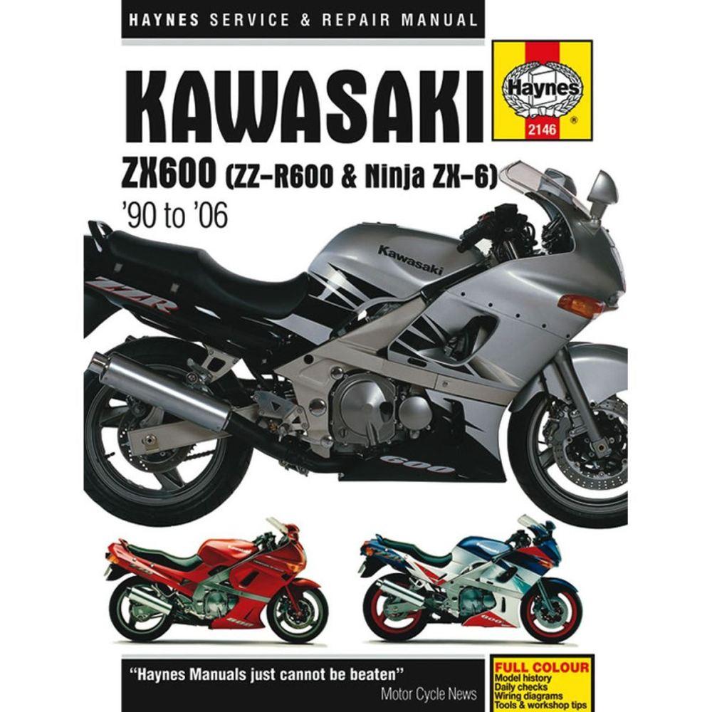 medium resolution of image is loading manual haynes for 2003 kawasaki zzr 600