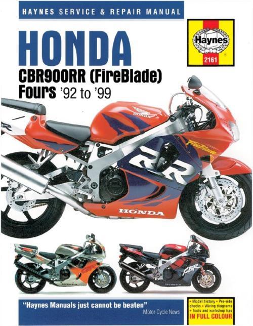 small resolution of image is loading manual haynes for 1996 honda cbr 900 rrt