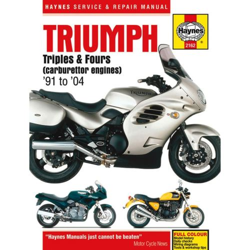 small resolution of image is loading manual haynes for 1998 triumph thunderbird sport 900