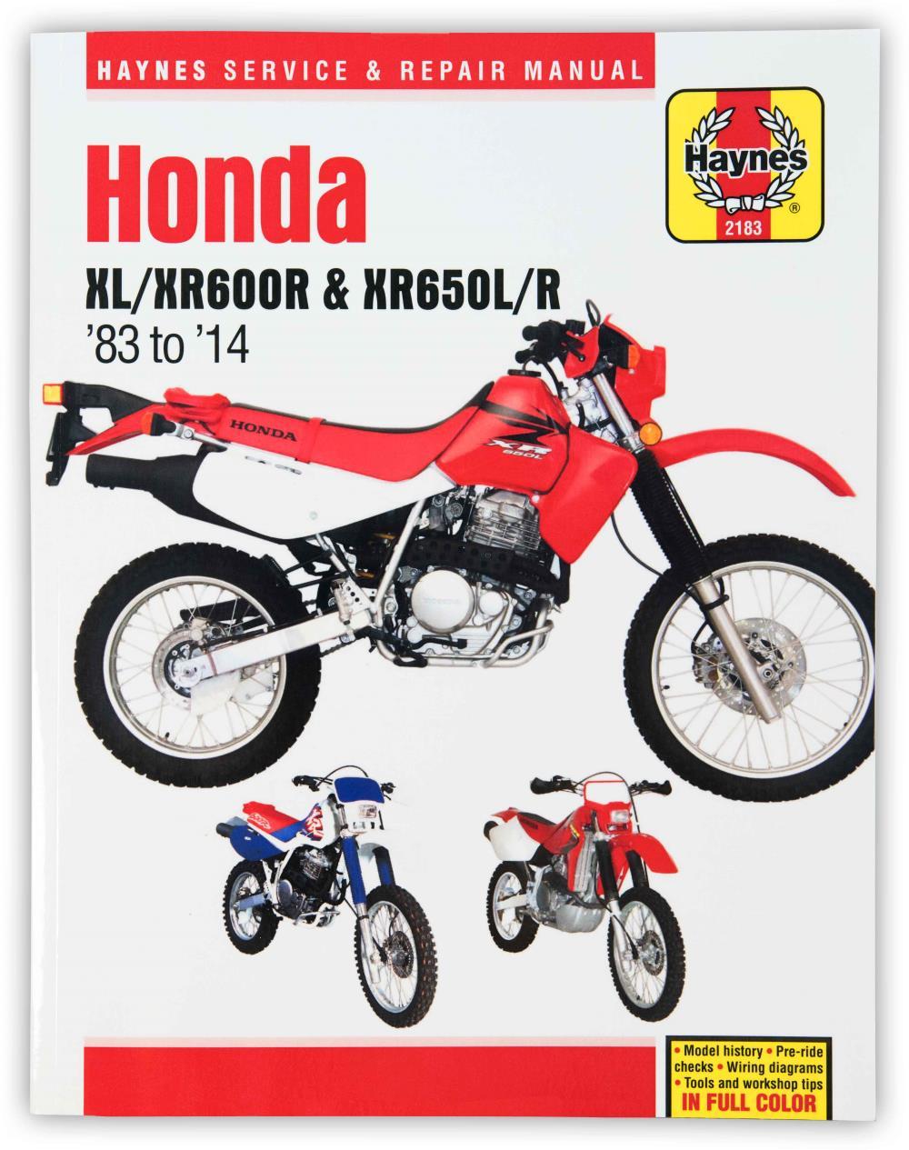 medium resolution of image is loading manual haynes for 1993 honda xr 600 rp