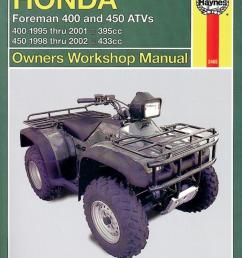image is loading manual haynes for 2001 honda trx 400 fw1 [ 1511 x 1980 Pixel ]