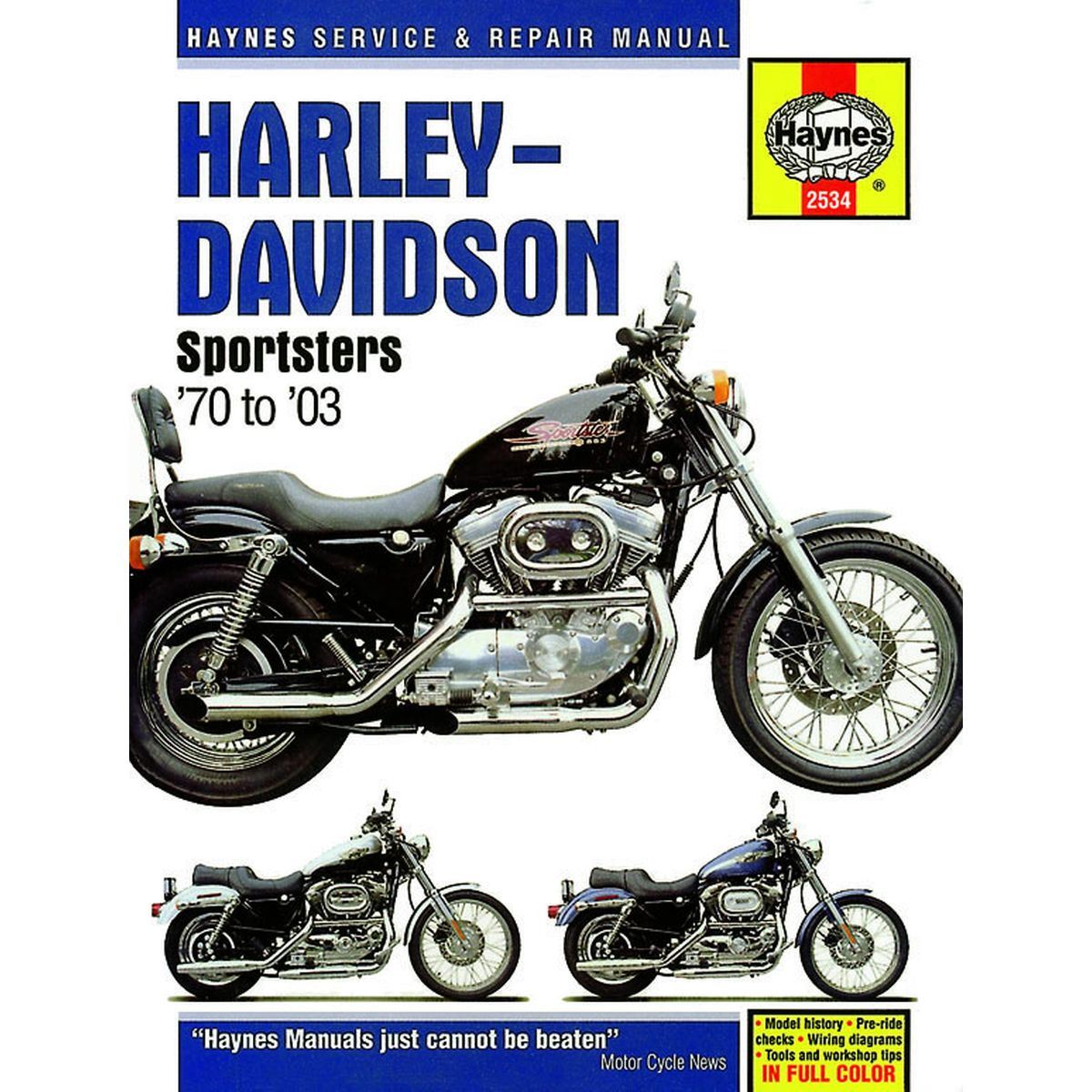 hight resolution of image is loading manual haynes for 1975 h davidson xlch 1000