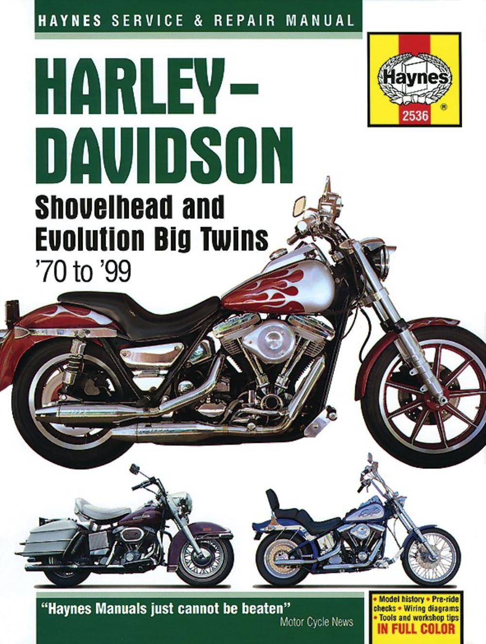 medium resolution of image is loading manual haynes for 1988 h davidson fltc 1340