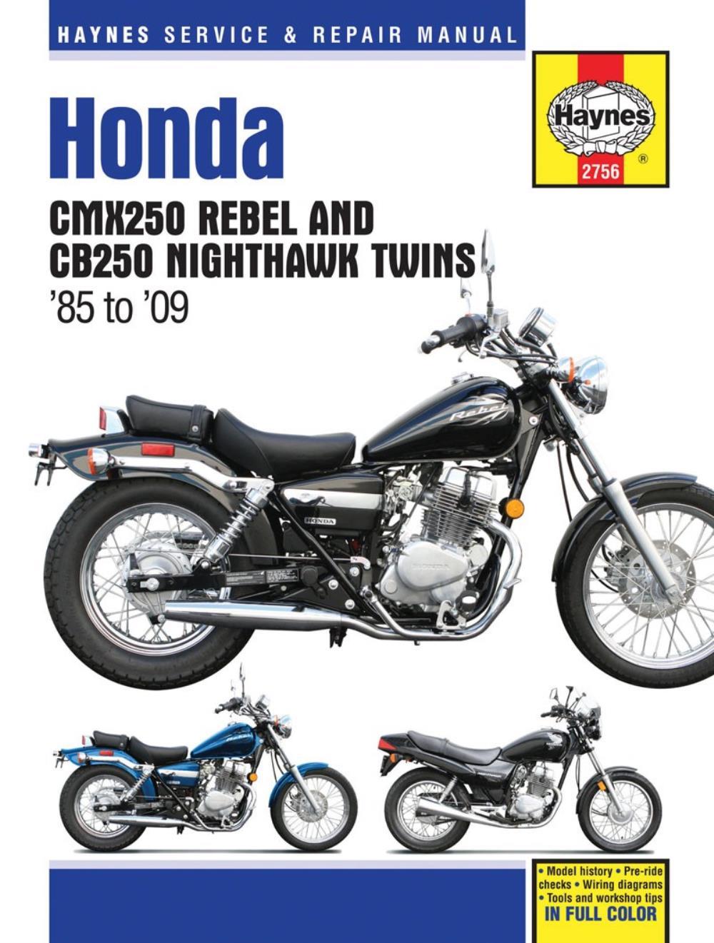 medium resolution of image is loading manual haynes for 2002 honda cmx 250 c2