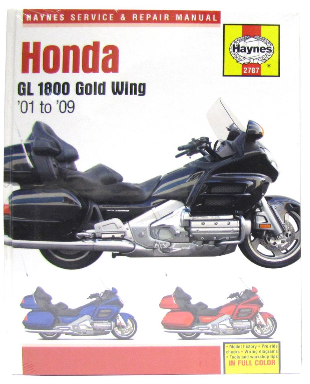 hight resolution of image is loading manual haynes for 2002 honda gl 1800 a2