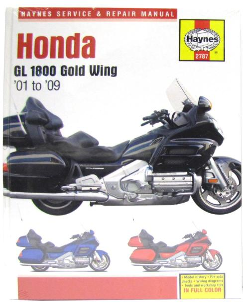 small resolution of image is loading manual haynes for 2002 honda gl 1800 a2