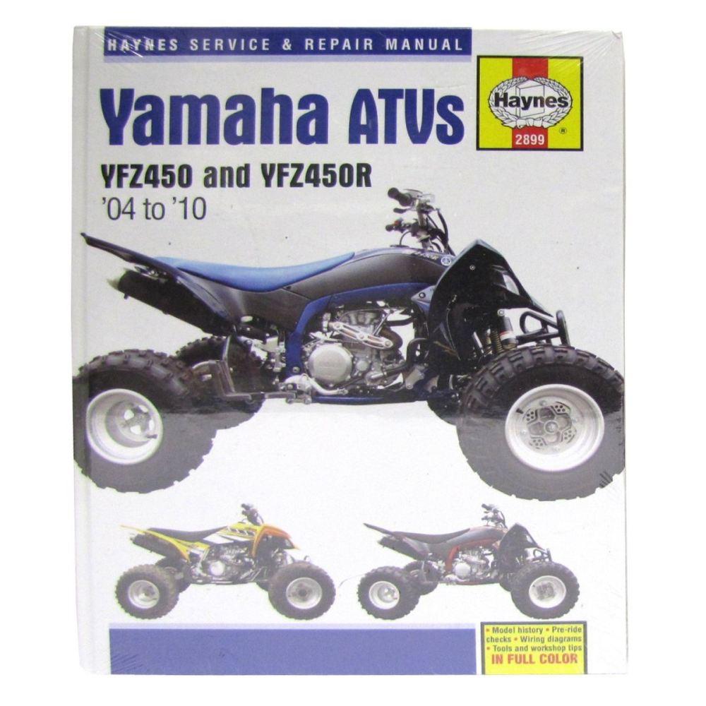 medium resolution of image is loading manual haynes for 2005 yamaha yfz 450 t