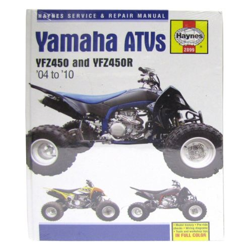 small resolution of image is loading manual haynes for 2006 yamaha yfz 450 v