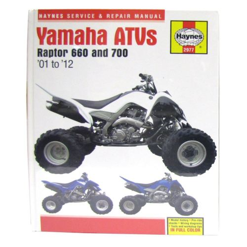 small resolution of image is loading manual haynes for 2006 yamaha yfm 700 rv