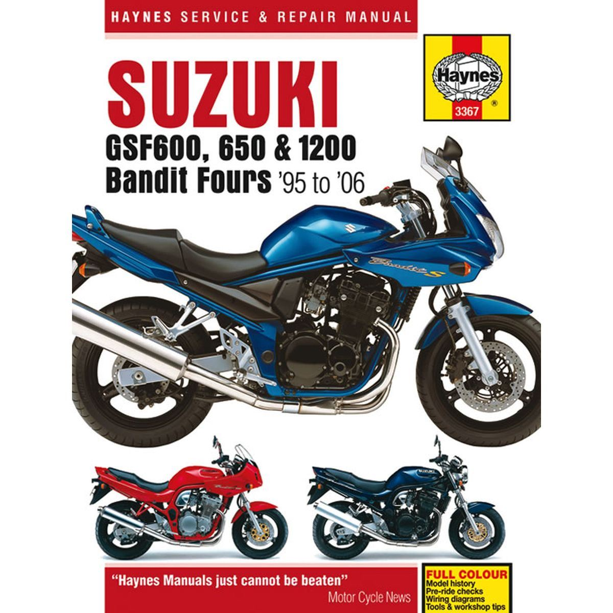 hight resolution of image is loading manual haynes for 1999 suzuki gsf 600 x