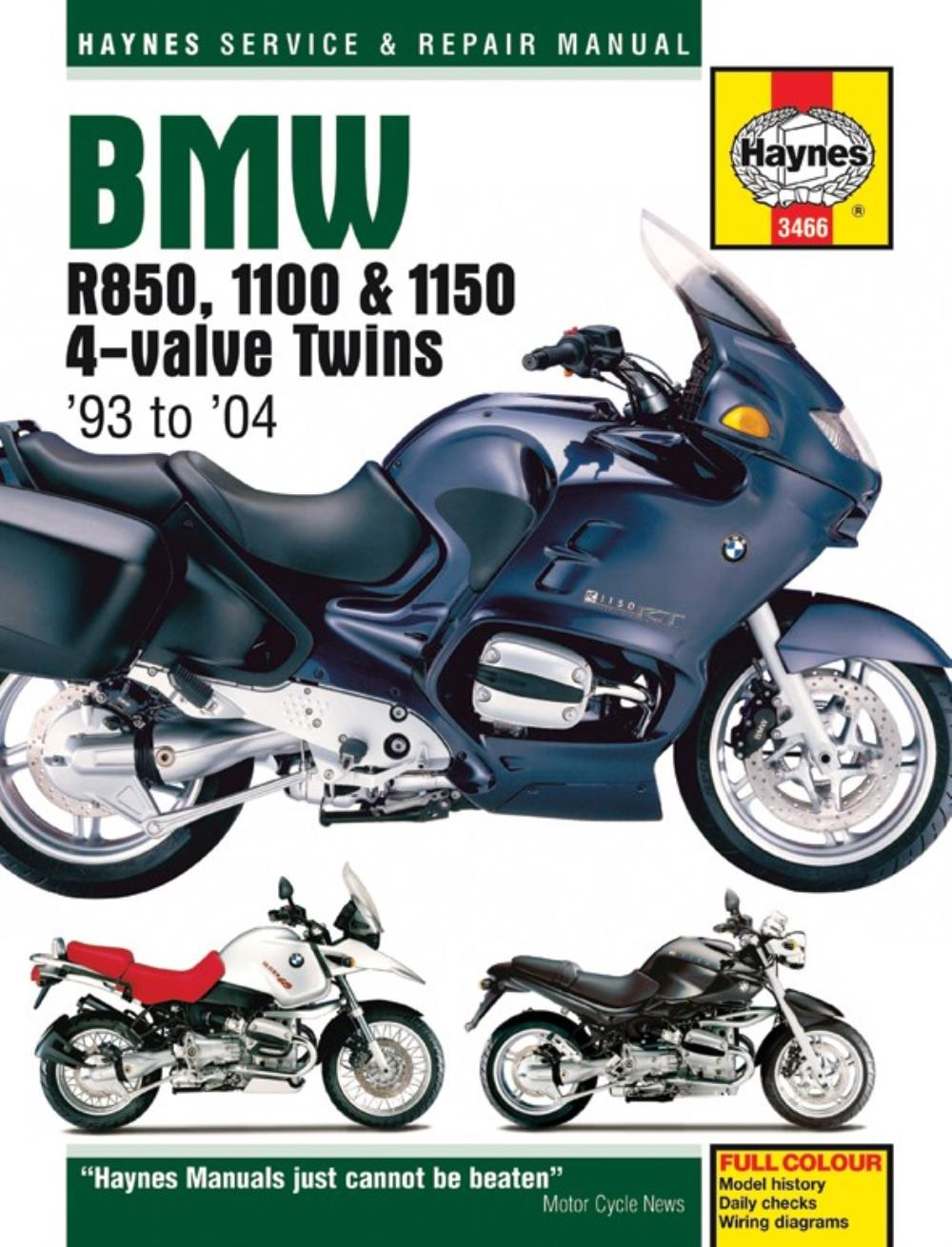 hight resolution of image is loading manual haynes for 2002 bmw r 1150 rt