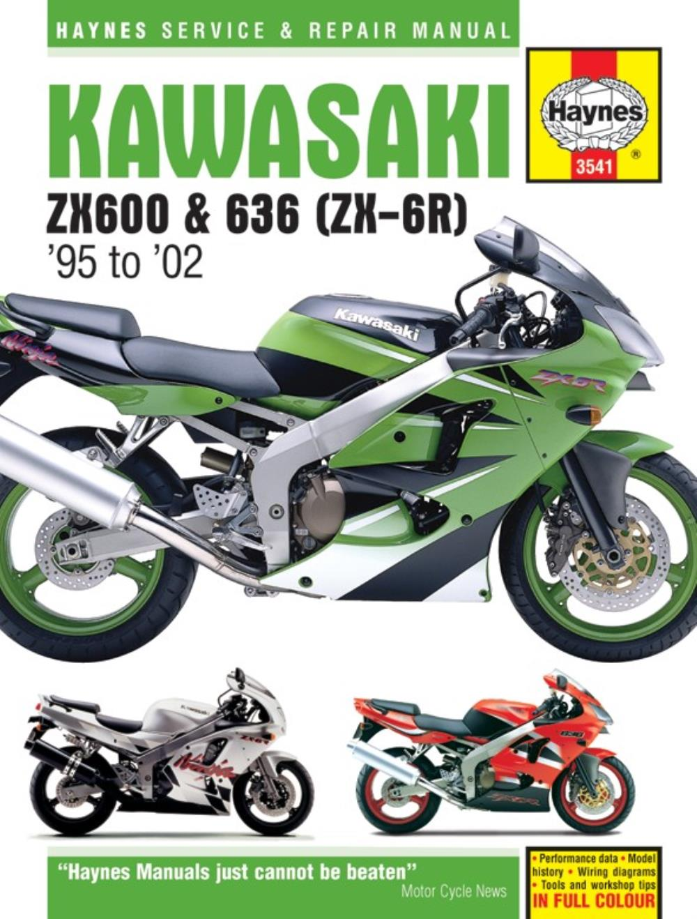 hight resolution of image is loading manual haynes for 1995 kawasaki zx 6r