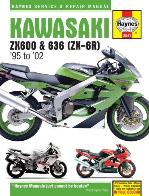 small resolution of image is loading manual haynes for 1995 kawasaki zx 6r