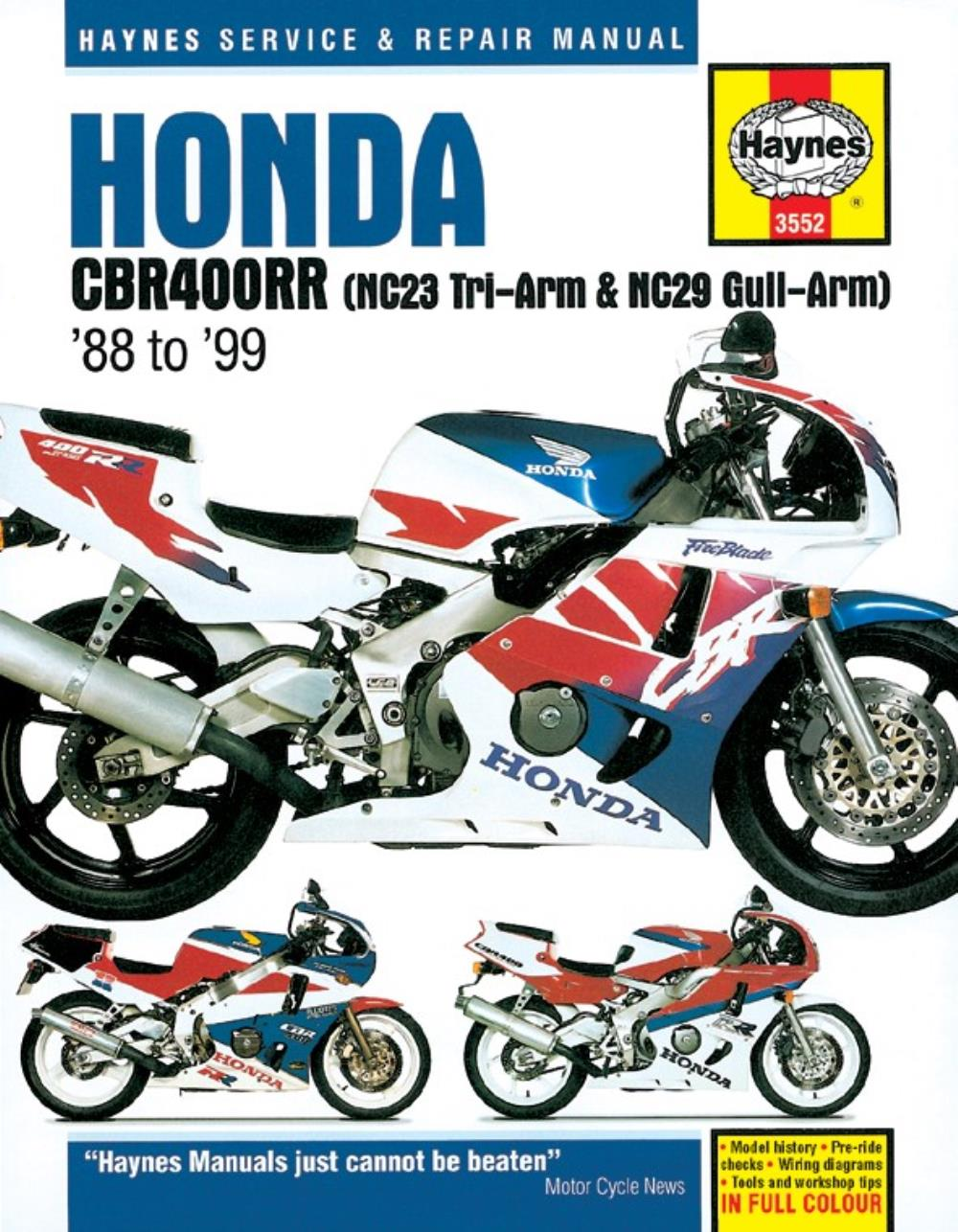 hight resolution of image is loading manual haynes for 1993 honda cbr 400 rrp