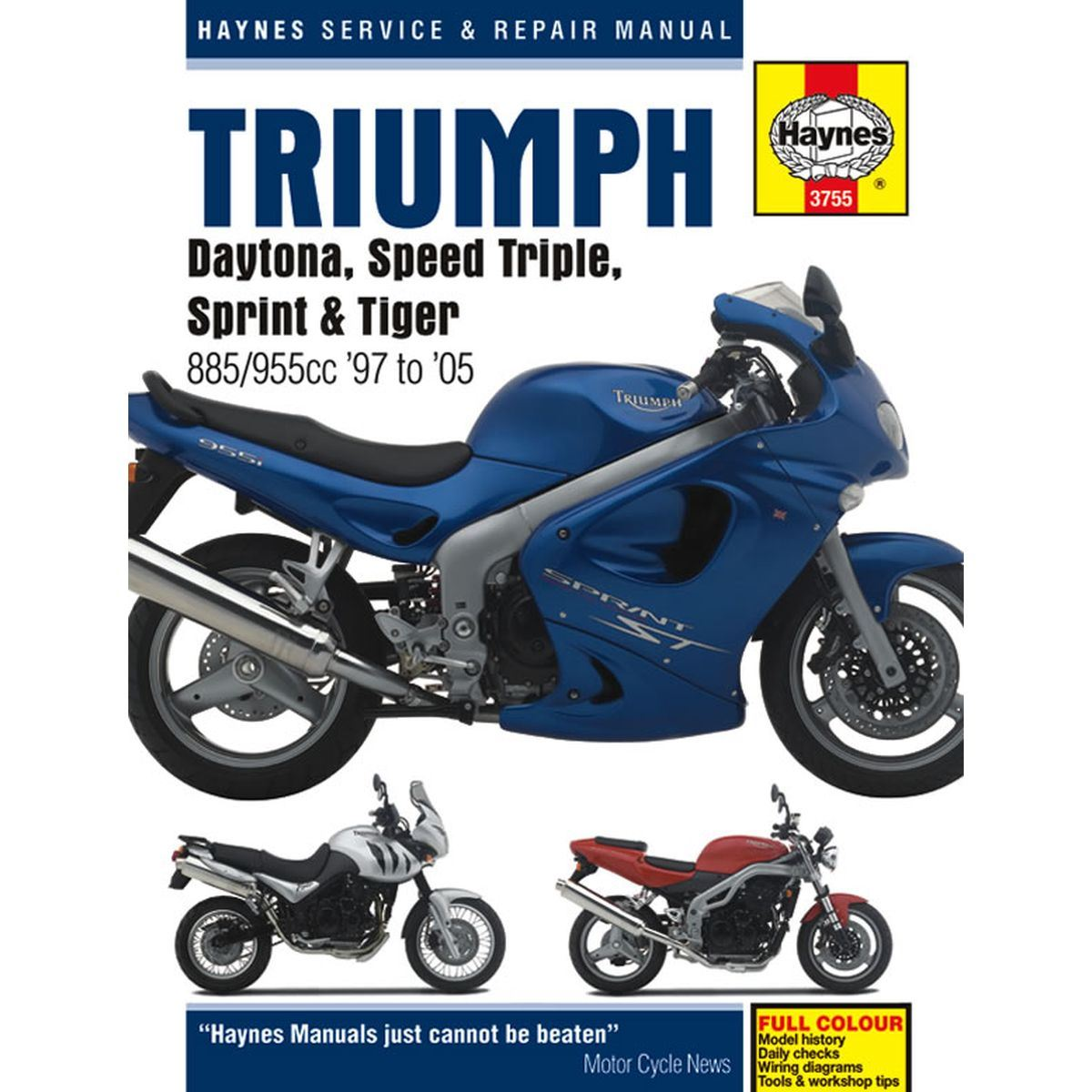 hight resolution of image is loading manual haynes for 2000 triumph speed triple 955i