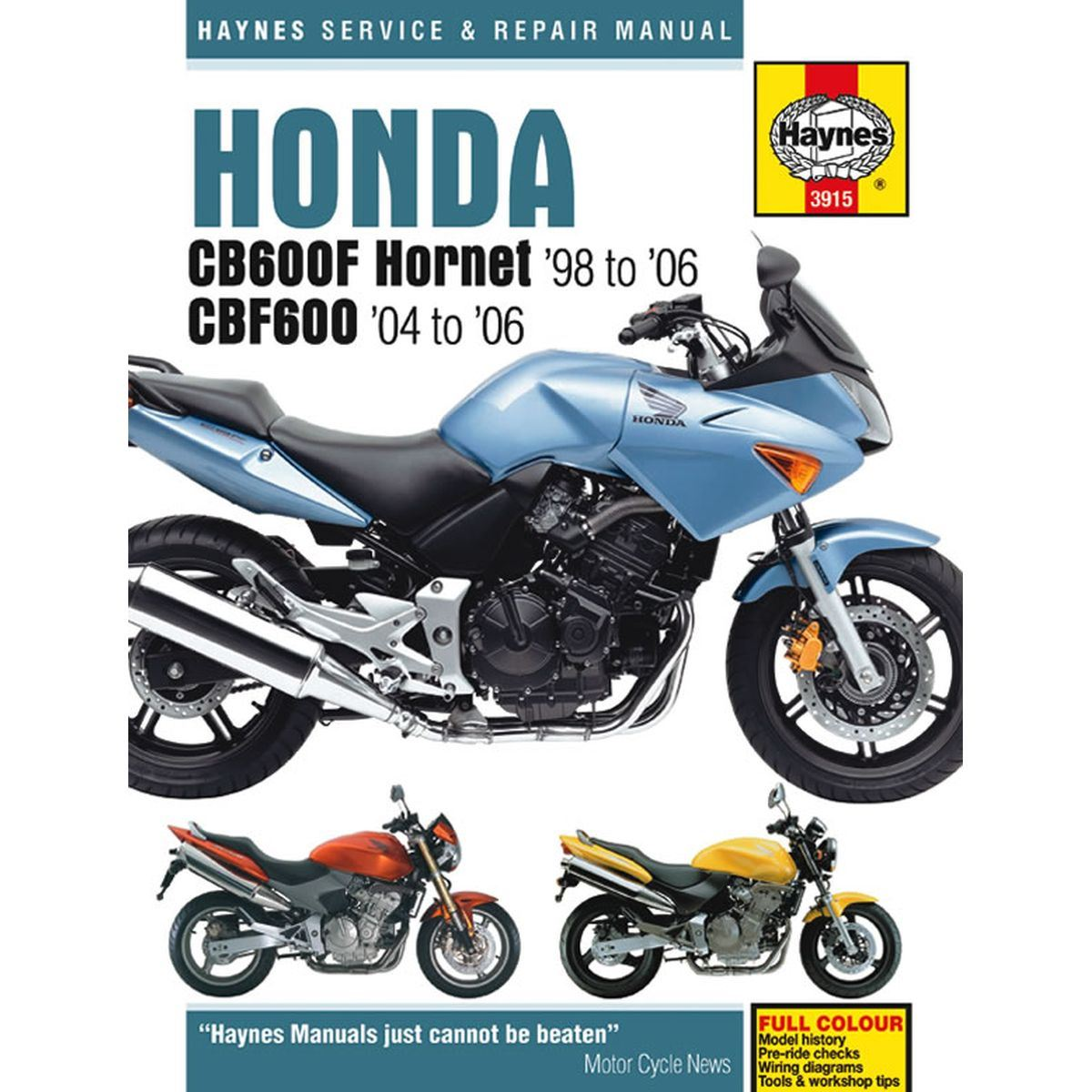 hight resolution of image is loading manual haynes for 1999 honda cb 600 fx
