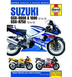 manual haynes for 2001 suzuki gsx r 600 k1 [ 1200 x 1200 Pixel ]