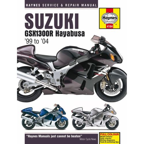 small resolution of manual haynes for 2001 suzuki gsx 1300 r k1 hayabusa 1st gen ebay 2001 hayabusa wiring diagram