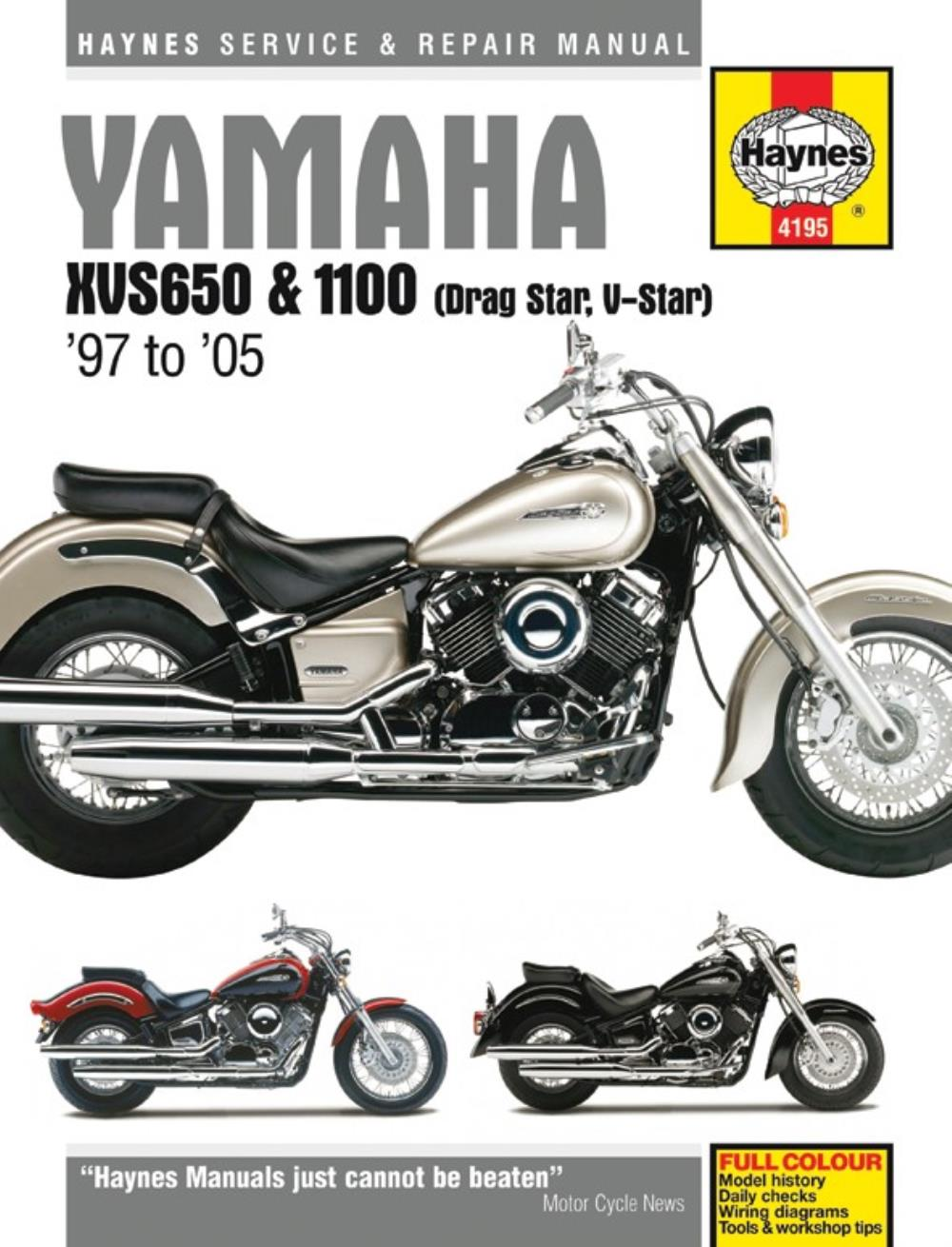 hight resolution of image is loading manual haynes for 2002 yamaha xvs 1100 a