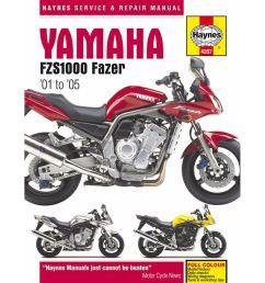 manual haynes for 2004 yamaha fzs 1000 fazer 1c21  [ 1200 x 1200 Pixel ]