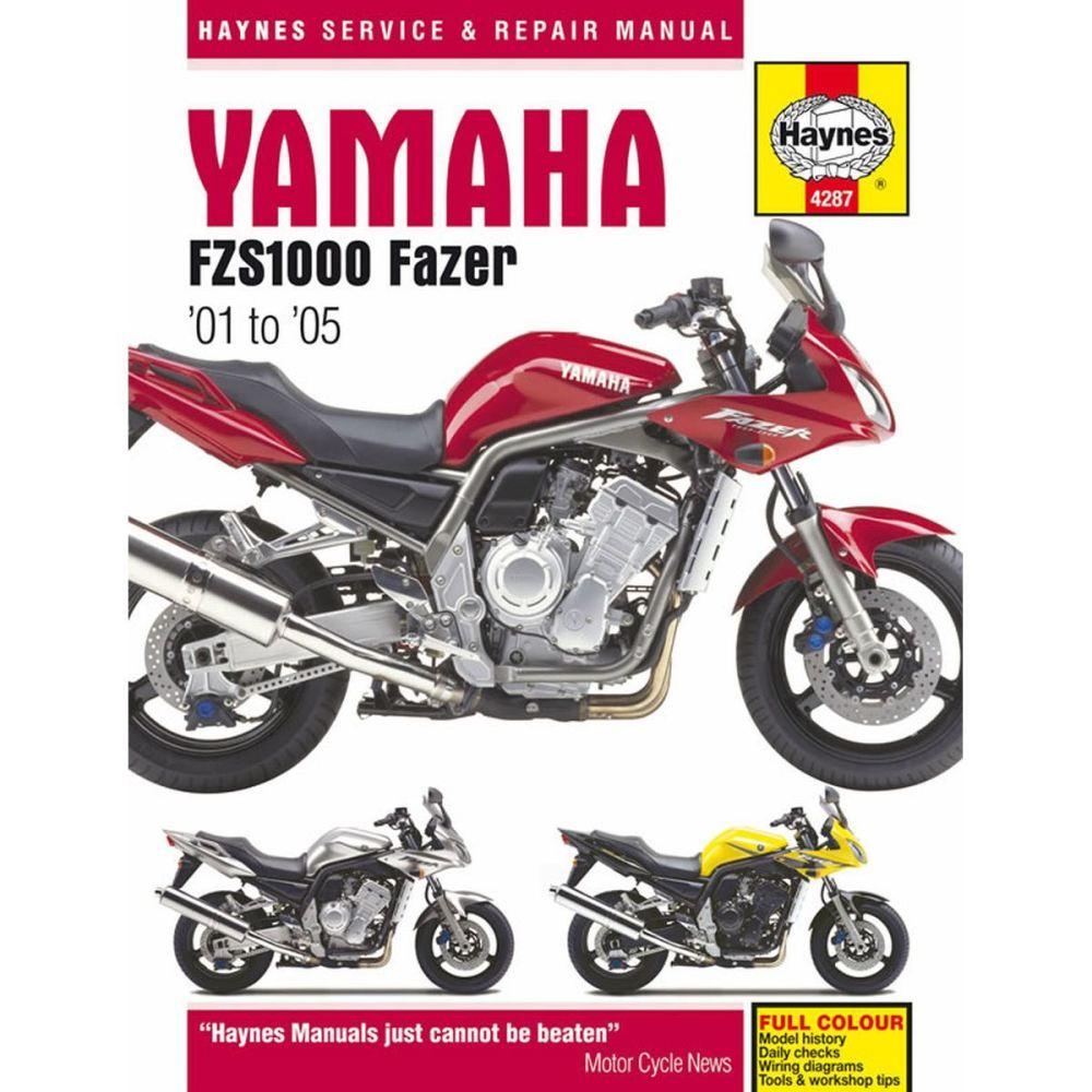 medium resolution of manual haynes for 2004 yamaha fzs 1000 fazer 1c21