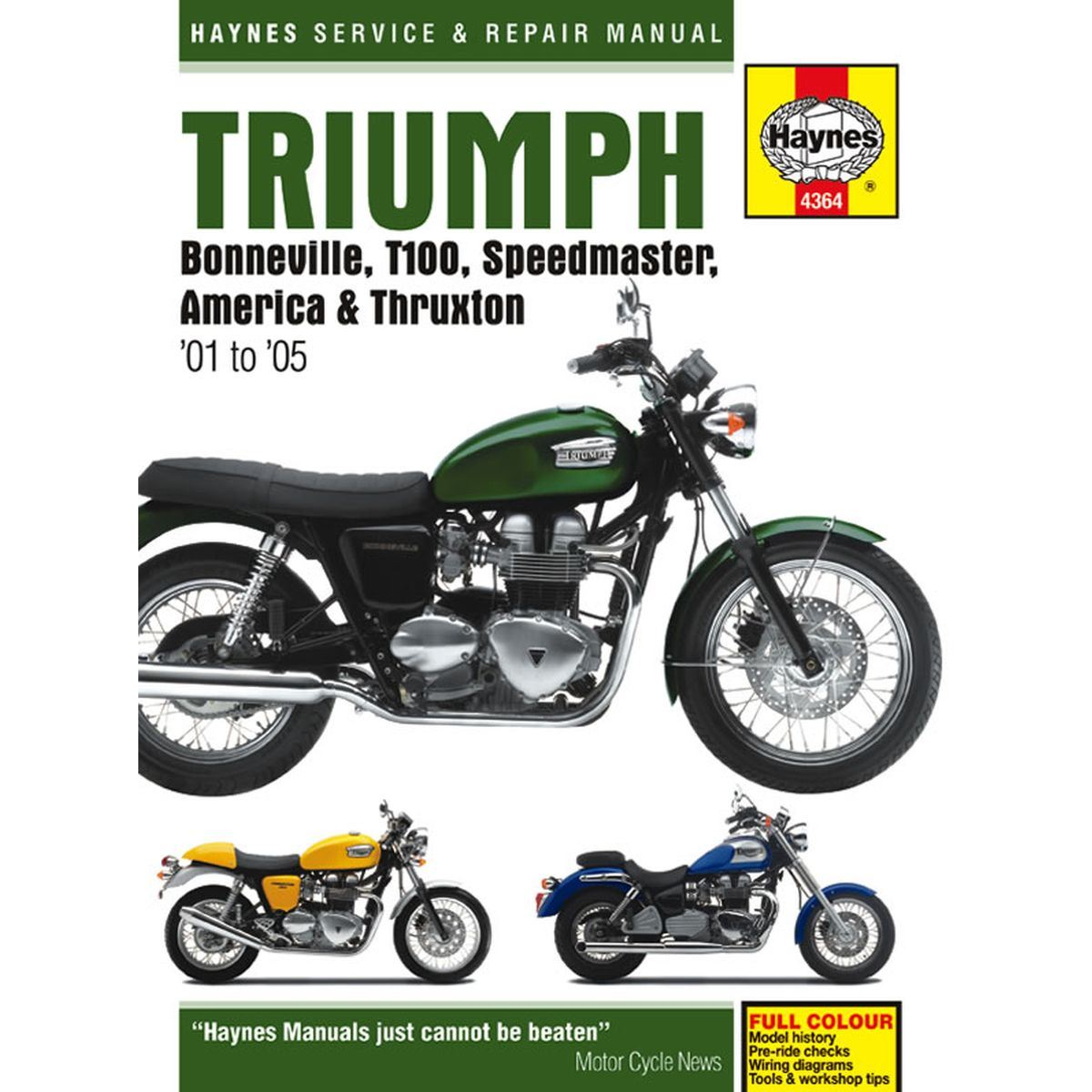 hight resolution of image is loading manual haynes for 2010 triumph thruxton 900