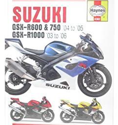 image is loading manual haynes for 2005 suzuki gsx r 1000  [ 1200 x 1200 Pixel ]