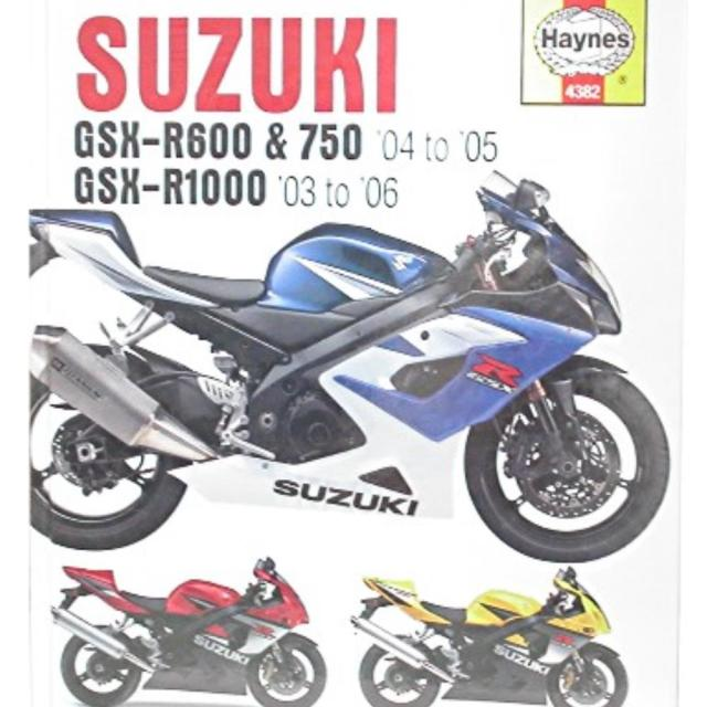Suzuki Gsxr 1000 K4 Owners Manual