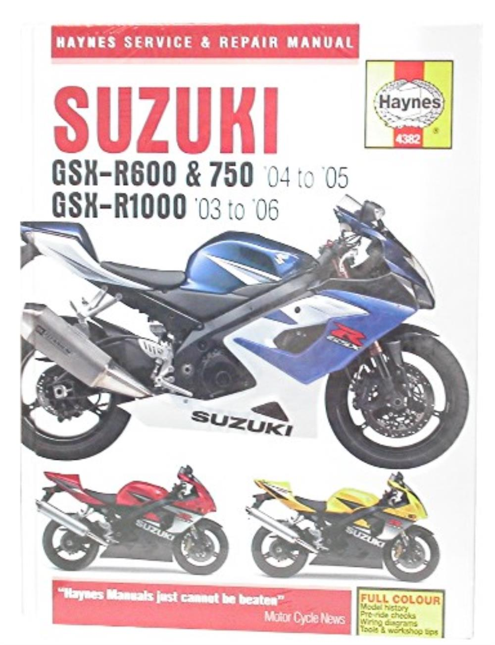 hight resolution of image is loading manual haynes for 2005 suzuki gsx r 1000