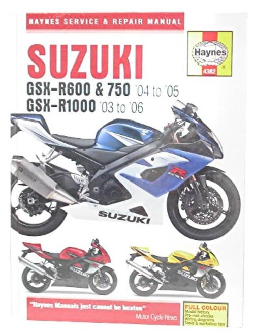 small resolution of image is loading manual haynes for 2005 suzuki gsx r 1000