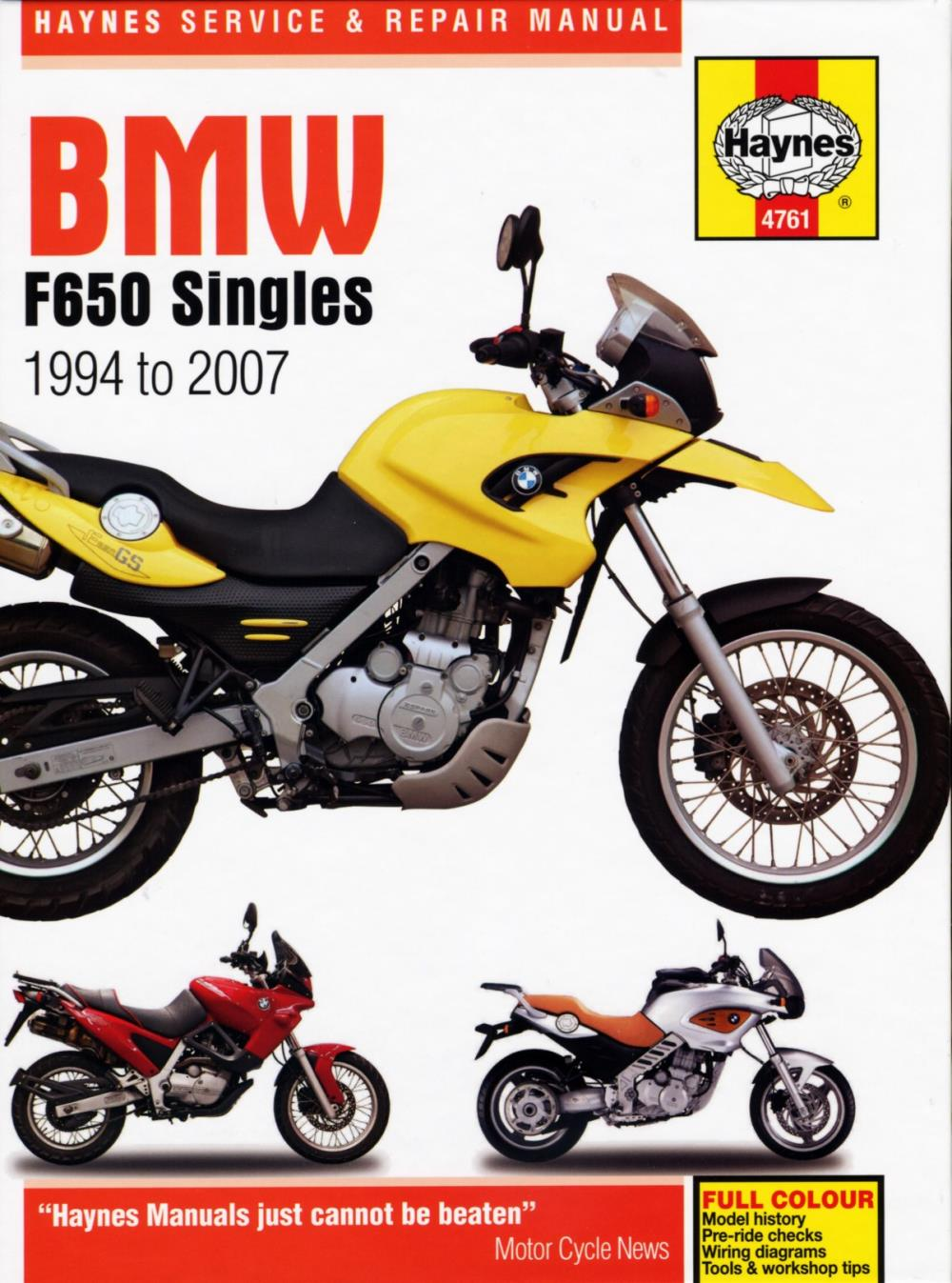 hight resolution of image is loading manual haynes for 1997 bmw f 650