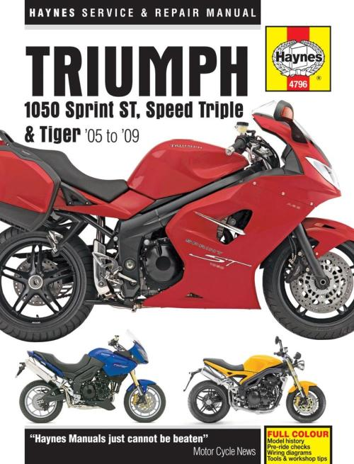 small resolution of image is loading manual haynes for 2010 triumph speed triple 1050