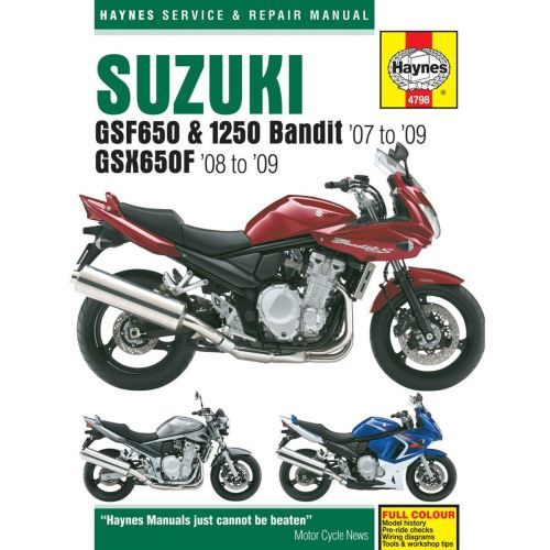 small resolution of image is loading manual haynes for 2008 suzuki gsx 650 f