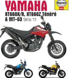 image is loading haynes manual 4910 yamaha xt660 amp mt 03  [ 1200 x 1200 Pixel ]